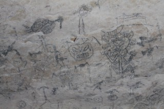 Höhlenmalereien Los Haitises