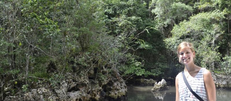Ich im Regenwald